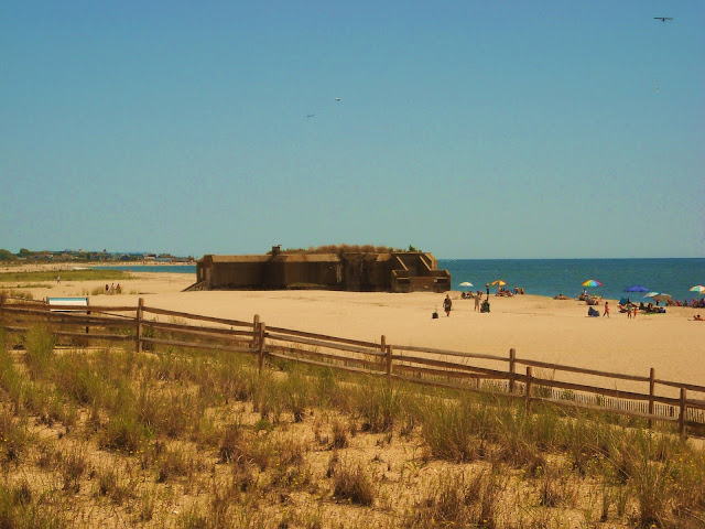 Cape May WWII Concrete Bunker
