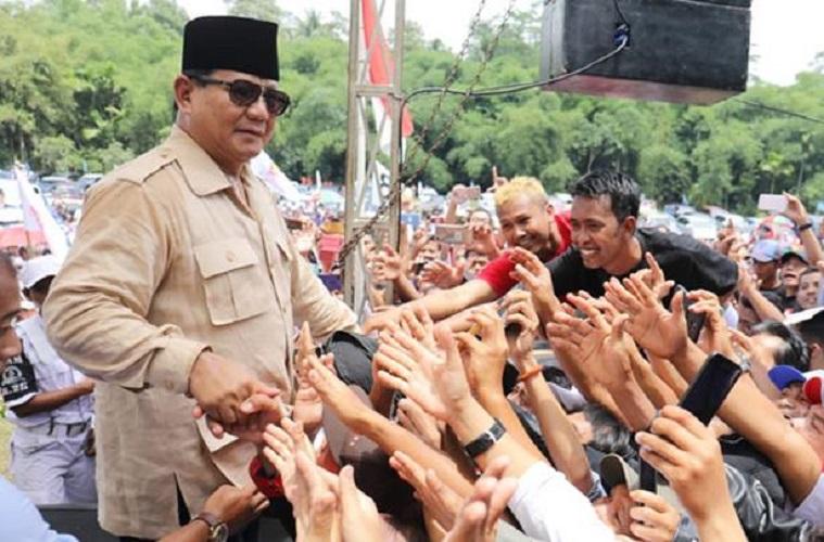 Prabowo Dilarang Shalat Jumat di Masjid Agung Semarang, Ini Tanggapan Cadas Netizen