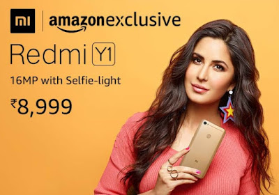 Redmi Y1 (32 Gb) Rs 8999 And Redmi Y1 Lite Rs 6999 Sale Today 12 PM