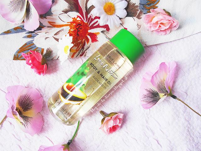 Telový a vlasový olej s avokádovým olejom Love Nature