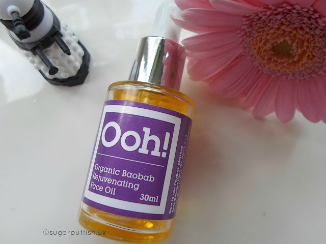 Review Ooh! Oils of Heaven Organic Baobab Rejuvenating Face Oil