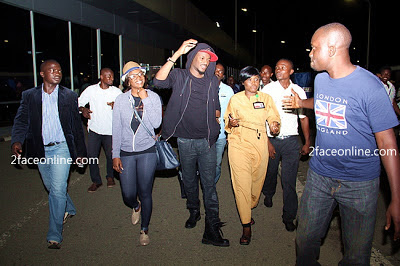 2face and annie idibia honeymoon