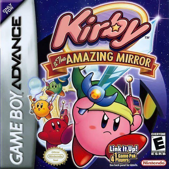 Kirby & the Amazing Mirror - Español - Portada