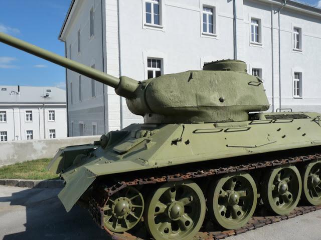 Museo de Historia Militar. Eslovenia www.caravaneros.com