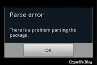 parse error di android, parse error, penyebab parse error, solusi parse error, chyardi, chyardi's blog, chyardi.blogspot.com, chyardi.blogspot.co.id