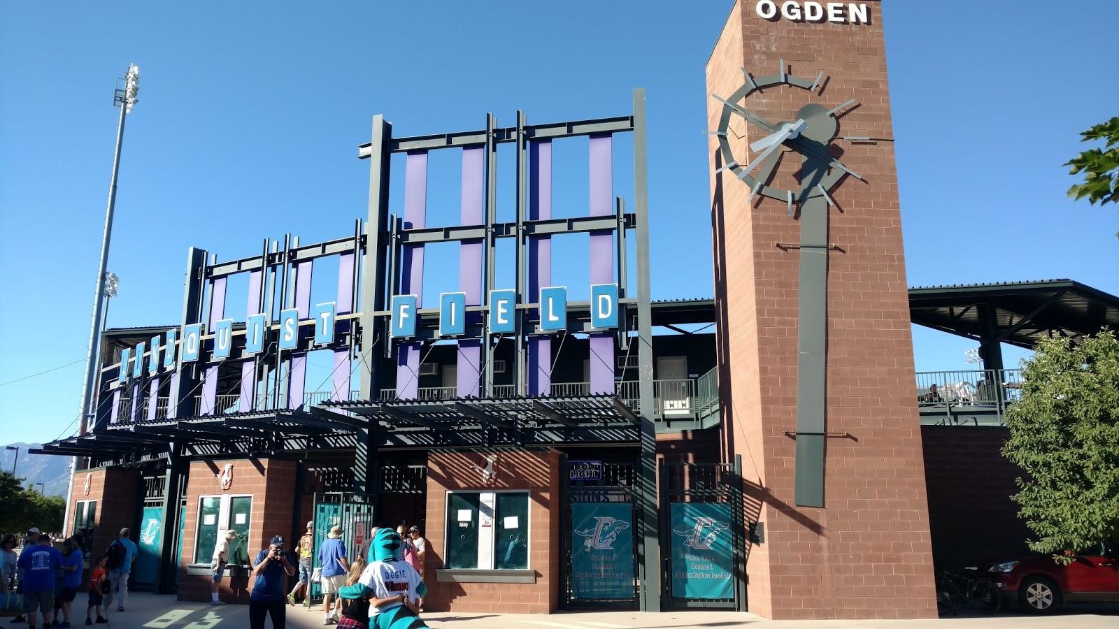 Sports Road Trips: Orem Owlz 5 at Ogden Raptors 14 (Pioneer League