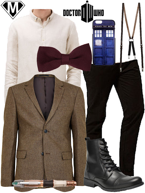 get the look eleventh doctor who outfit