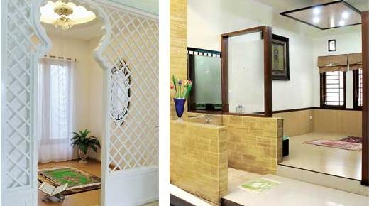 Desain Mushola Yang Indah Dalam Rumah Minimalis 100 Rumah Minimalis