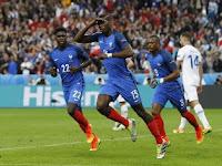 Prancis vs Islandia 5-2