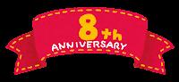 アニバーサーリー「8周年」