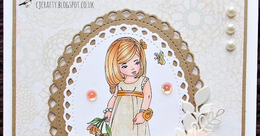 If You Give A Crafter A Cookie: Peaches and Cream Bridesmaid