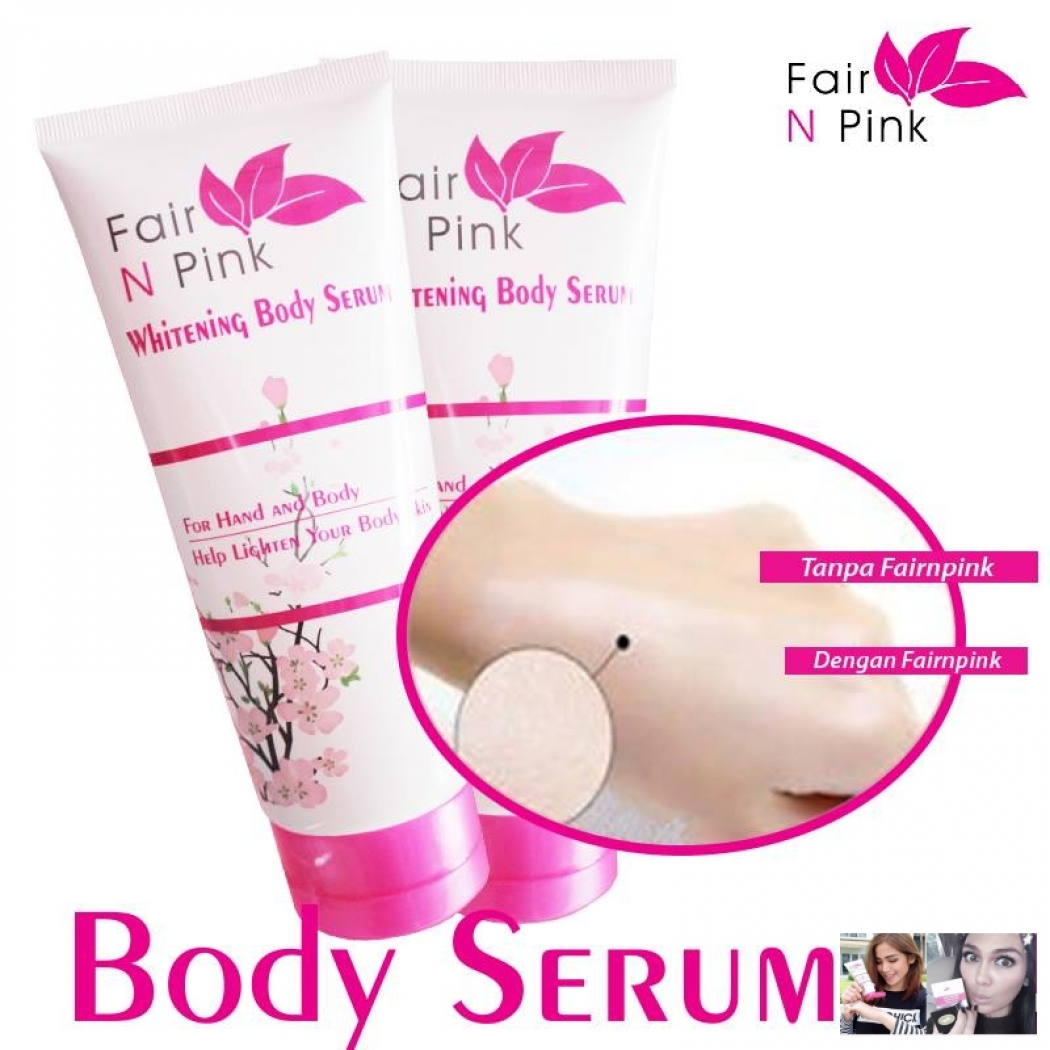Jual Paker Fair N Pink Harga Kemasan Cc Cream Foundation Moisturizer Whitening Uv Protector Body Serum 160ml Original