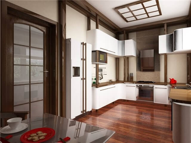 Stylist Japanese Interior For Kitchen in Your Apartment - Funny ...
