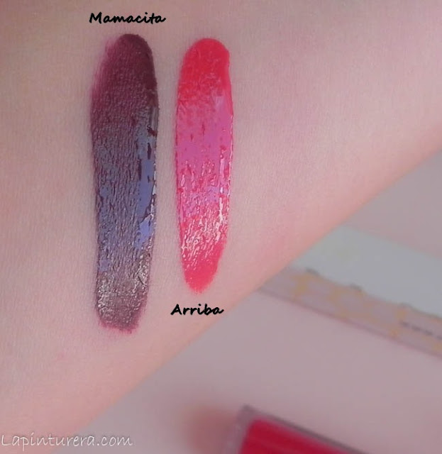 swatches labiales mate Ed. Limitada Colourpop