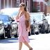 Pregnant Pippa Middleton blooms as she steps out in London