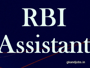 RBI Assistant Exam Books