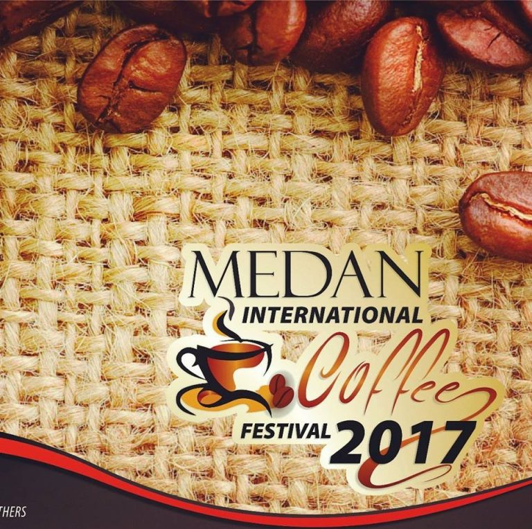 Medan International Coffee Festival, 7-9 Juli 2017