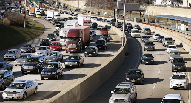 AAA warns of record-breaking traffic this Thanksgiving - and predicts the WORST times to hit the road in every city