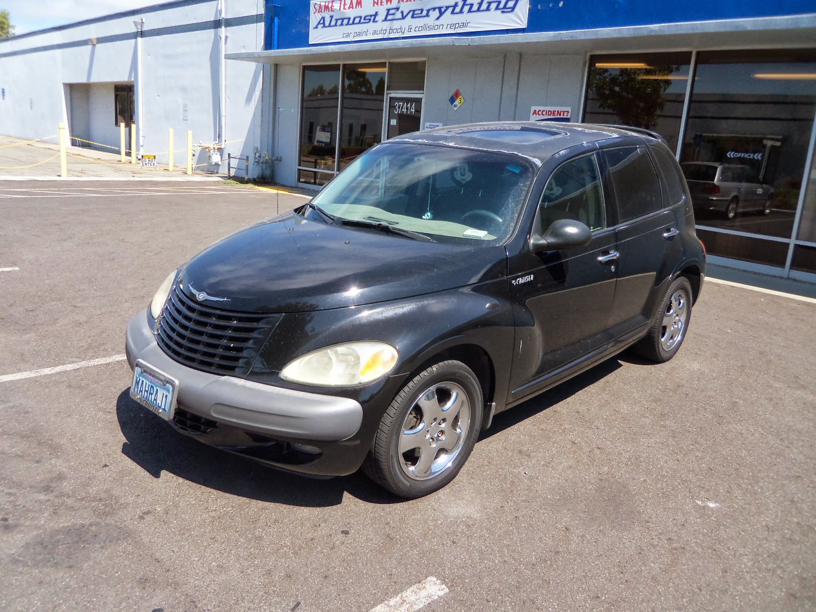2001 chrysler pt cruiser paint job