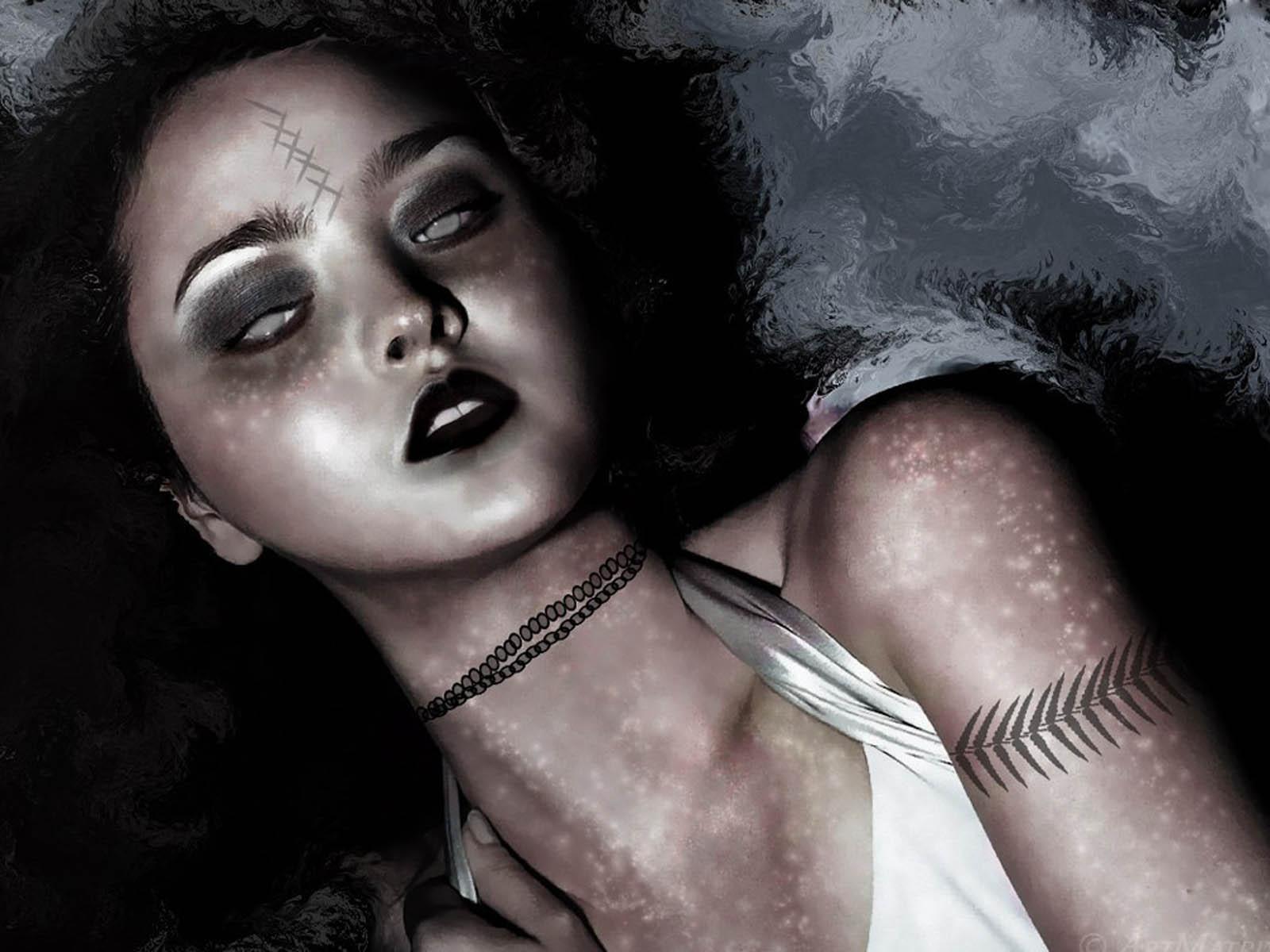 gothic wallpaper goth girls - photo #12