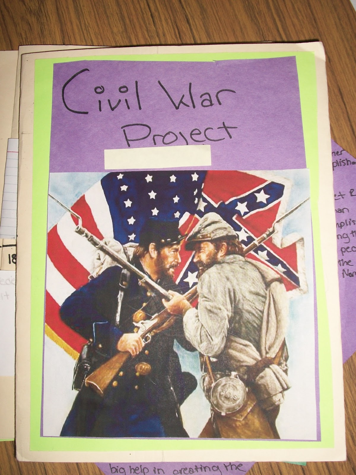 Teaching Star Students Civil War Lapbooks
