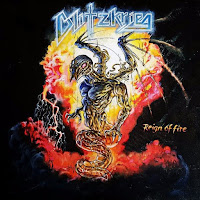 "Blitzkrieg - ""Reign Of Fire"" (single)"