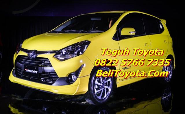 Promo Diskon Terbaik Toyota New Agya G MT TRD Surabaya