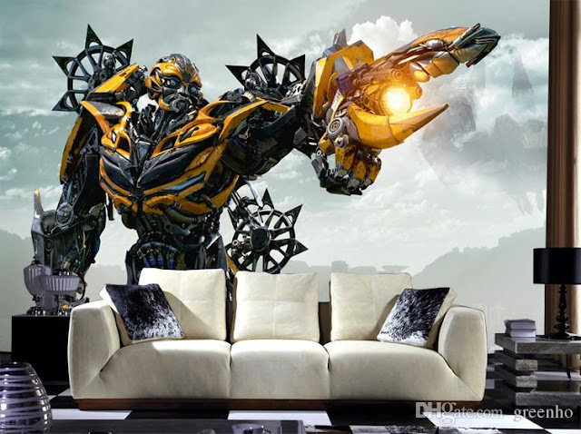 Transformers Wall Mural Photo Wallpaper