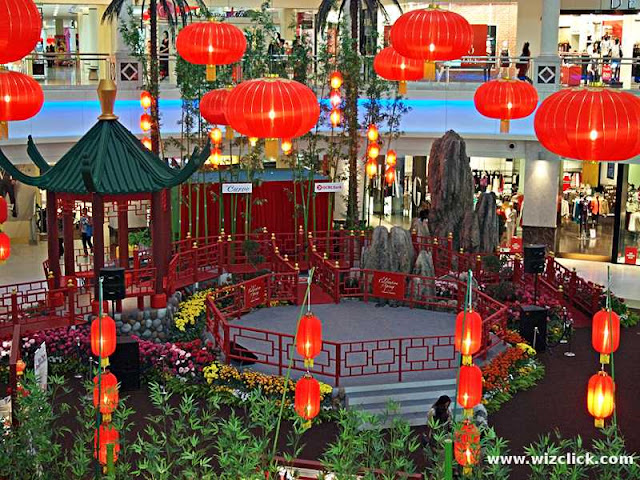 The Curve Mall's 2013 Chinese New Year Theme - Celebration of Spring Decoration .