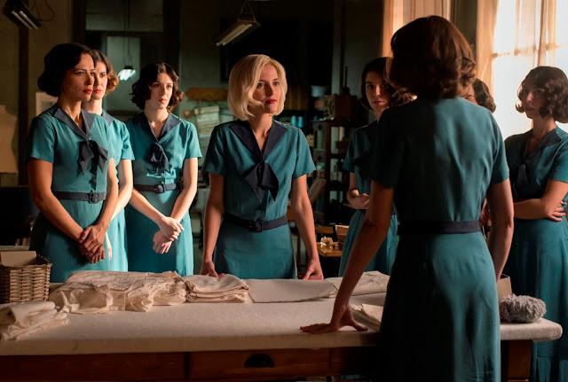 Protagonistas en la tercera temporada de 'Las Chicas del Cable'