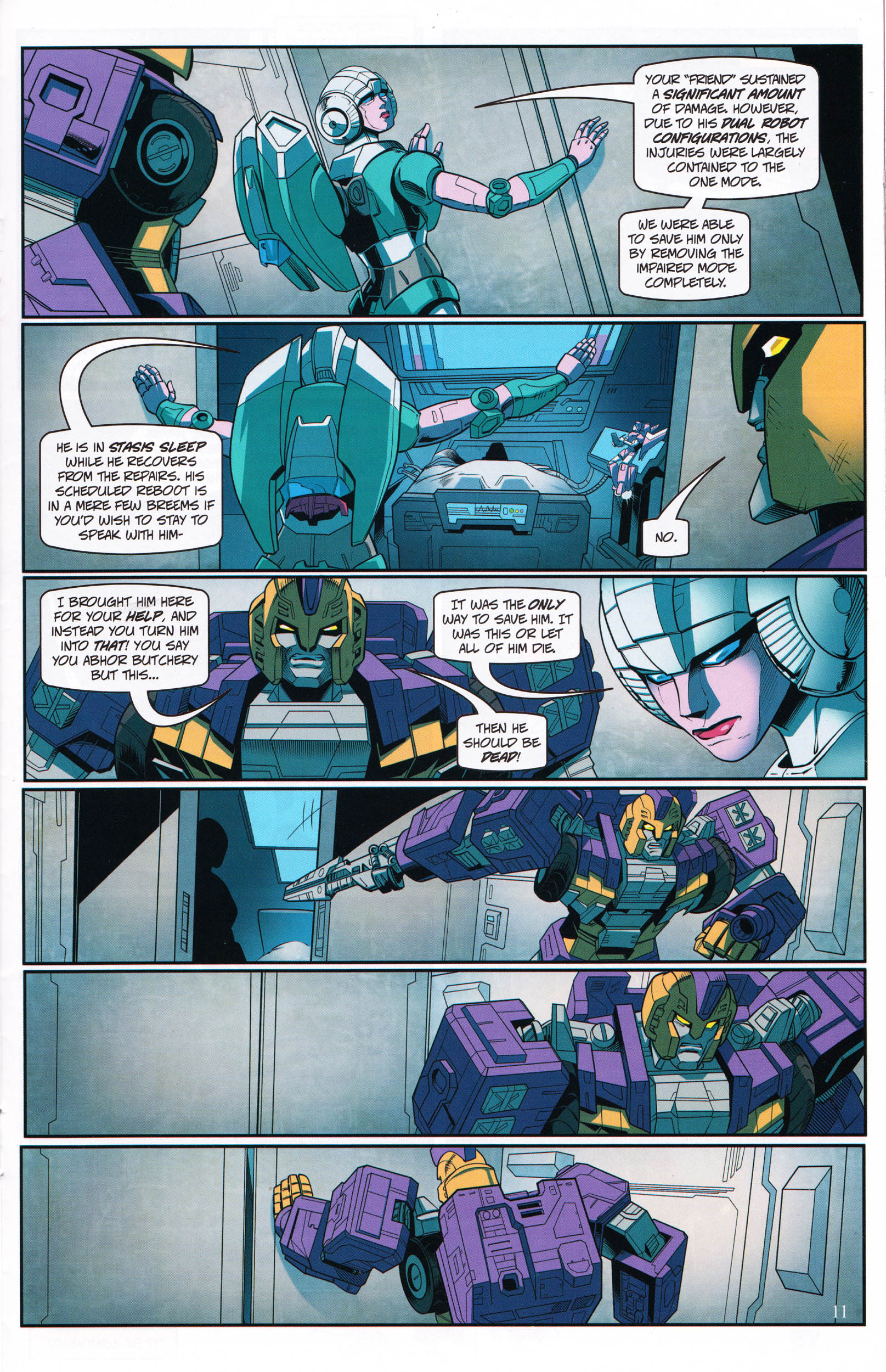Read online Transformers: Collectors' Club comic -  Issue #68 - 11