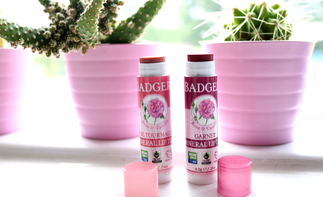 Badger Balm Mineral Lip Tints review