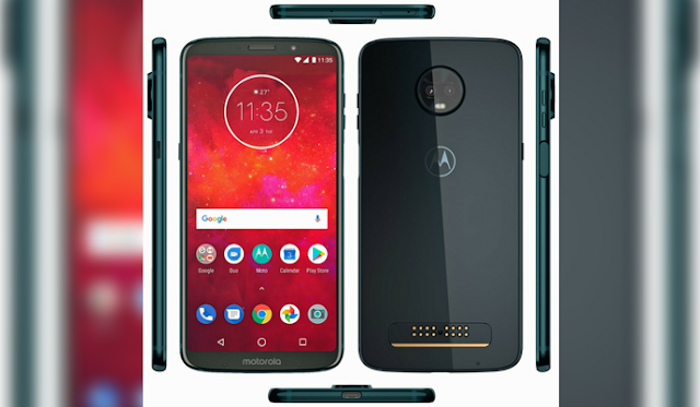 Moto Z3 Play with 18:9 Display, Glass Body, & Side-mounted Fingerprint Sensor