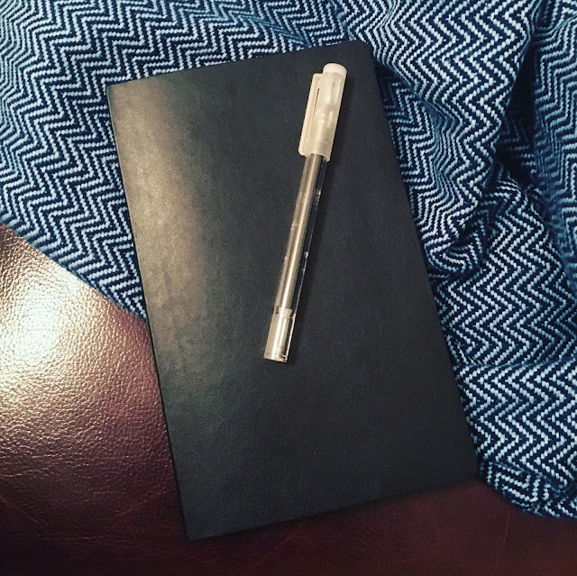 Beginning Bullet Journaling with my Moleskine and pen
