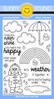 Sunny Studio Rain or Shine 4x6 Stamps