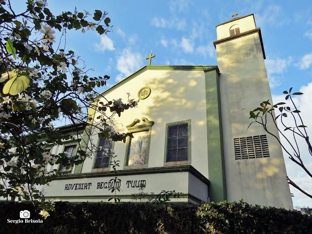 Vista da capela do Instituto Maria Imaculada - Colégio Maria Imaculada - Ipiranga - São Paulo