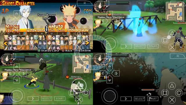 download game ppsspp naruto mod texture