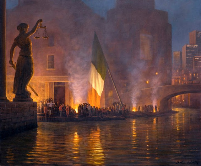 "Irish Realist Painter- ""Brian McCarthy 1960"""