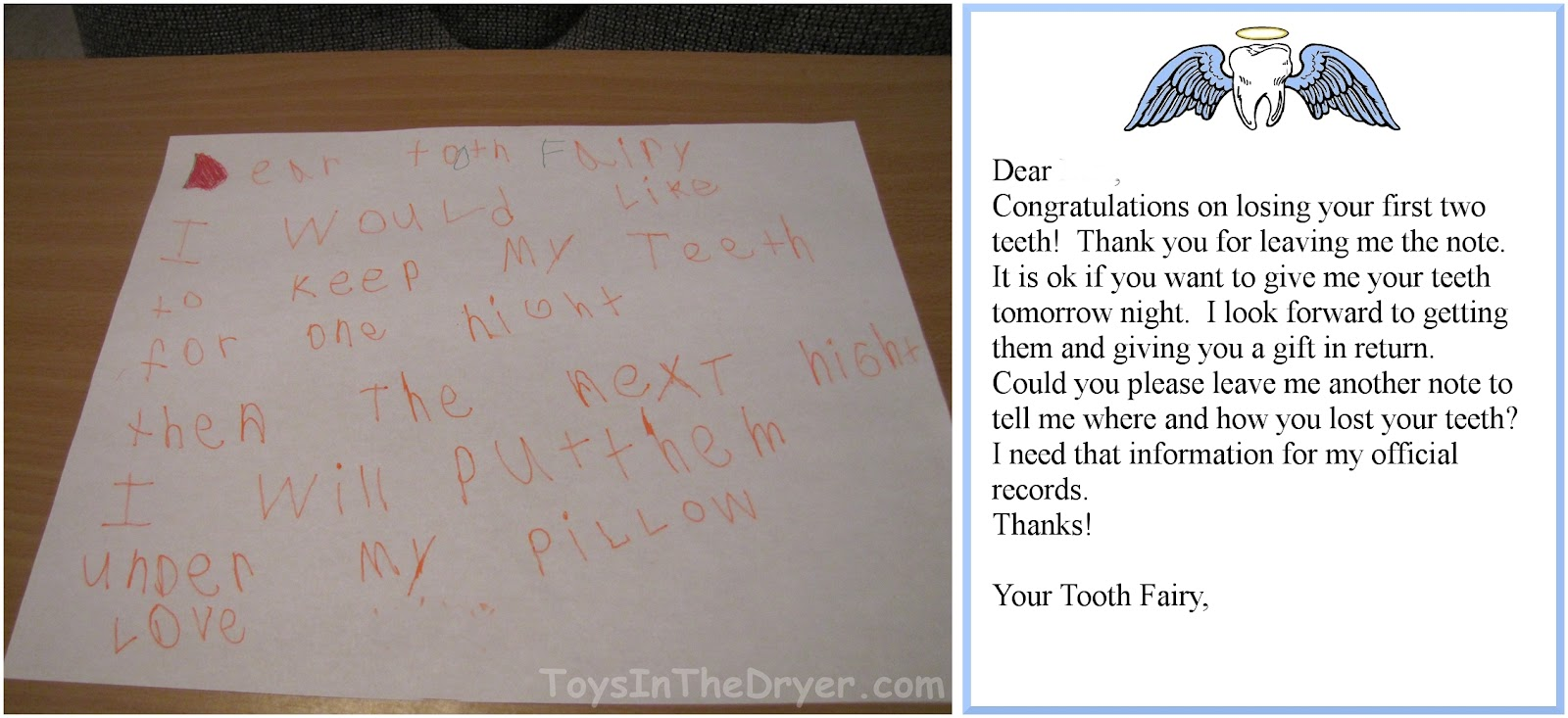 graphic regarding Tooth Fairy Certificate Printable Girl called Absolutely free Enamel Fairy Certification
