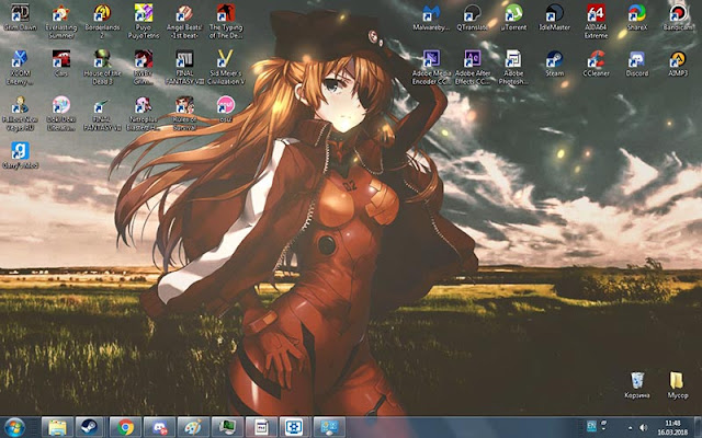 Asuka Langley Wallpaper Engine