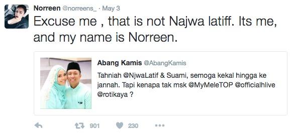 Benarkah Najwa Latif Dah Kahwin?