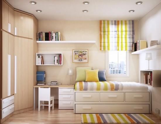 Aprovecha al máximo los espacios en las habitaciones pequeñas