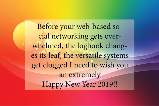 Happy New Year 2019 Messages For Friends and Family