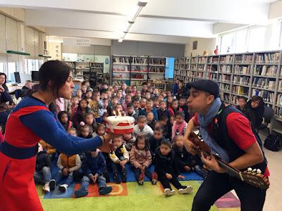 Aniversario da Biblioteca de Melide