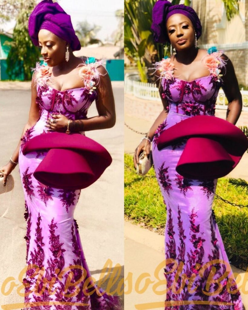 #EbFabLook Vol 42B Women: Try This New Aso-Ebi Style Worn From 1th To 10th January 2019