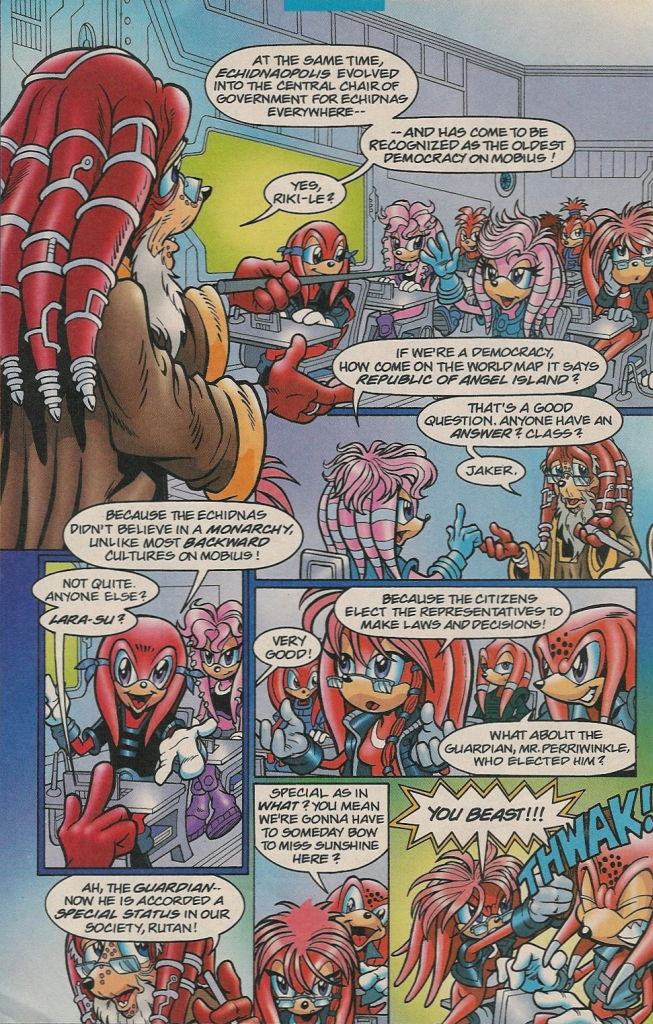 Read online Sonic The Hedgehog comic -  Issue #131 - 19