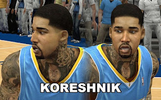 NBA 2K13 Tattoos Mods and Patch