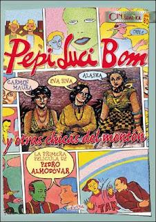 Pepi, Luci, Bom y otras chicas del montón (1980) Comedia de Pedro Almodóvar
