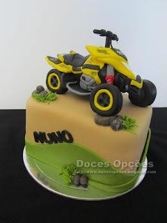 bolo moto4 bragança doces opções