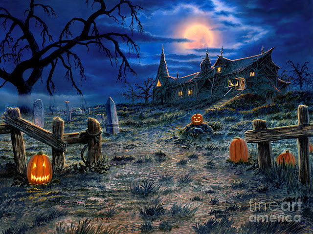 halloween 2017 haunted house images hd desktop background